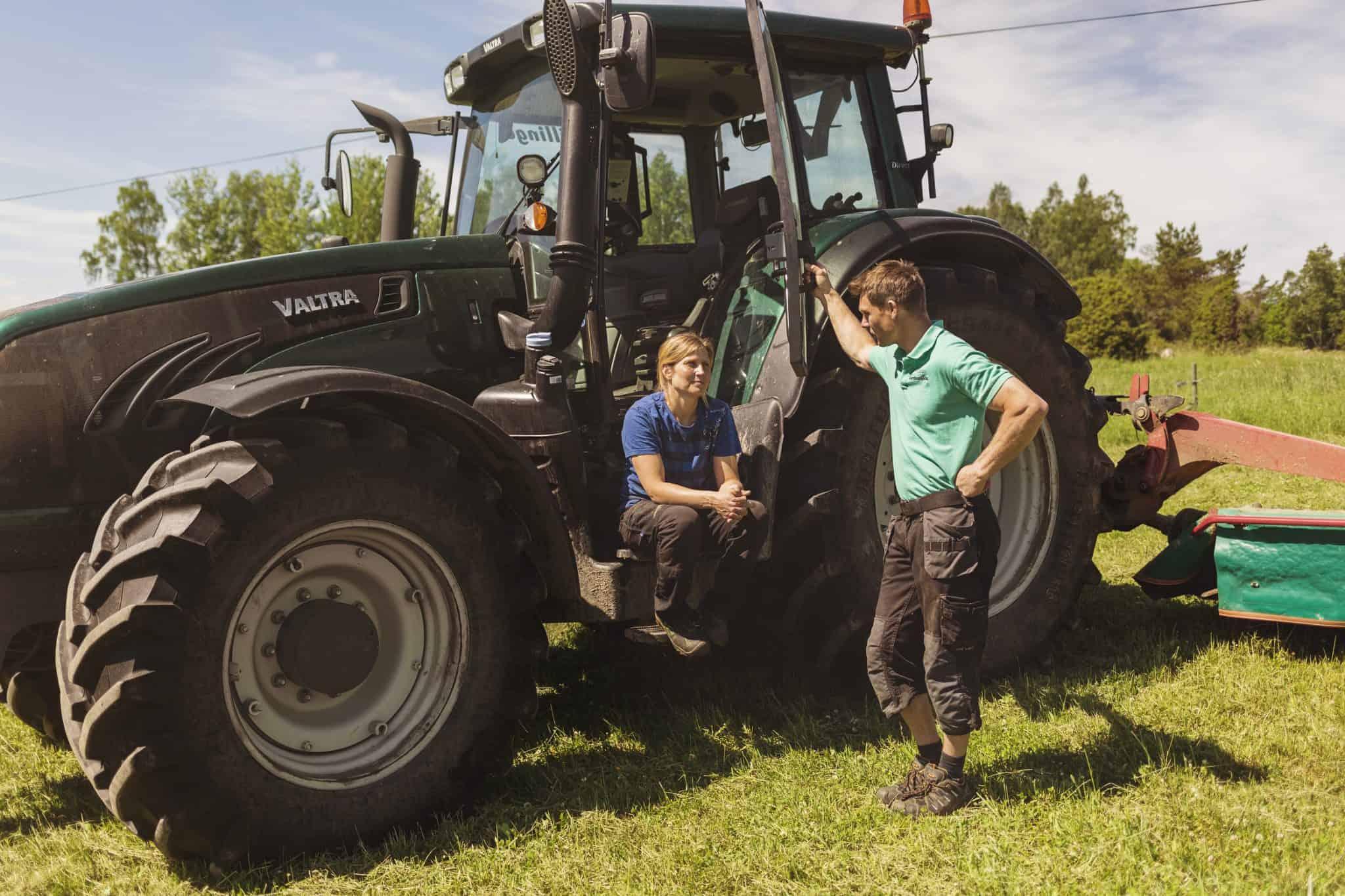 Jag o Jacob traktor
